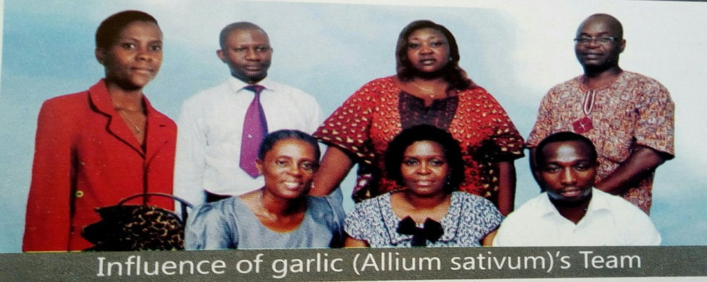 Influence of garlic'Team